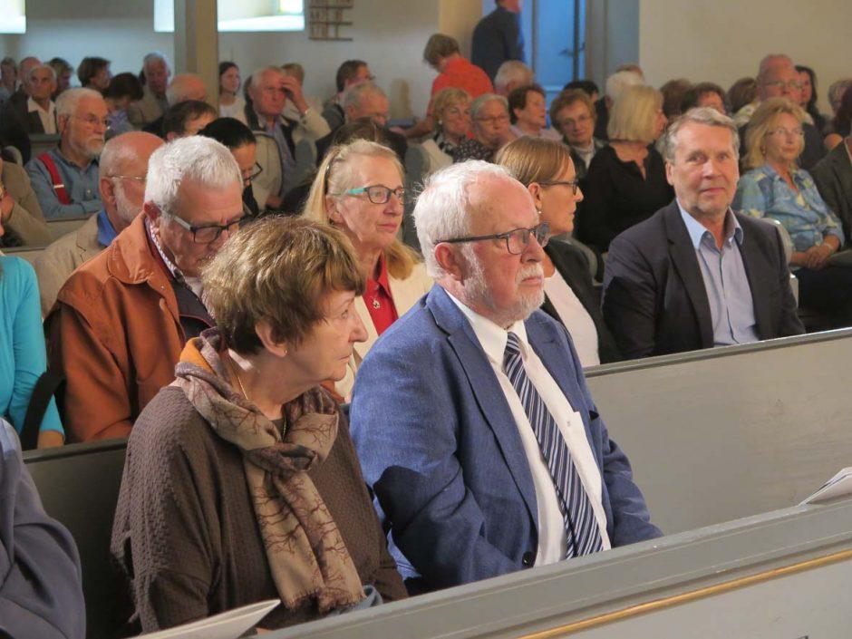 Foto: Andrea Müller | Unter den Gästen: Dr. Lothar de Maiziére